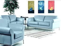 Teal Blue Leather Sofa Light Blue Leather Sofa Electricnest Info