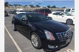 used cadillac cts 2013 used cadillac cts coupe for sale in silver md edmunds