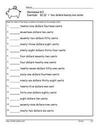 17 best images of money printable worksheets for 2nd grade 2nd