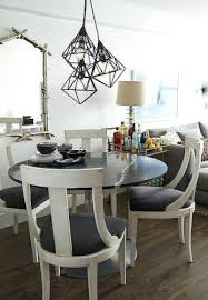 dining table round mirrored dining table room chairs round