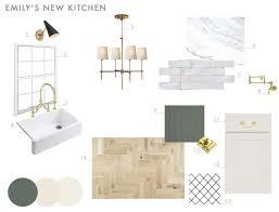 our modern english country kitchen emily henderson our new kitchen design plan