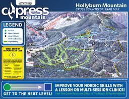 Big Sky Montana Trail Map by Trail Maps And Mountain Stats U2013 Cypress Mountain Resort