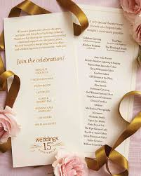 wedding anniversary program martha stewart weddings 15th anniversary martha stewart weddings
