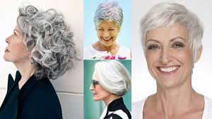 gray hair styles for at 50 short gray hairstyles for older women over 50 gray hair colors 2018