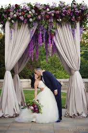wedding arch kit for sale wedluxe a majestic purple infused castle wedding photography