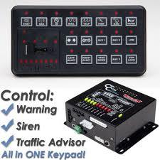 whelen siren light controller whelen cencom sapphire siren and light controller ccsrn3 sirens