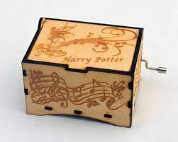 Engraved Music Box Fairy Jewelry Music Box