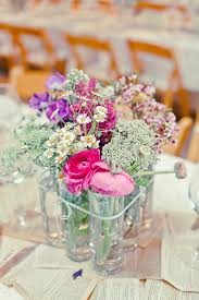 simple rustic wedding centerpieces mon cheri bridals