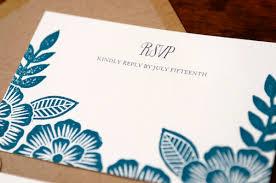 Printing Wedding Invitations Emma Paul U0027s Floral Block Printed Wedding Invitations
