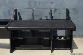 Omnirax Presto 4 Studio Desk Omnirax Presto 4 Studio Desk Black Ayresmarcus