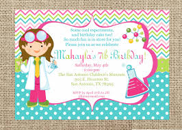 make your own party invitation science party invitations reduxsquad com