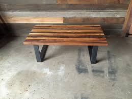 butcher block table designs reclaimed wood butcher block coffee table what we make