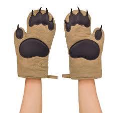 gants cuisine paire de gants de cuisine pattes d ours à 22 46