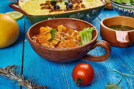 cuisine du maghreb maghreb cuisine stock image image of torshi charmoula 106575087