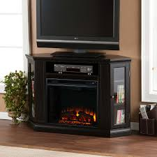 sleek fireplace entertainment center costco tv stands sears black
