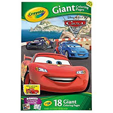 amazon crayola giant coloring pages disney pixar cars 2