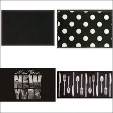 tapis cuisine noir tapis de cuisine moderne tapis de cuisine deco bistrot vintage
