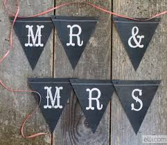 Mr And Mrs Sign For Wedding Free Printable Mr U0026 Mrs Banner And Just Married U2013 Diy Weddings