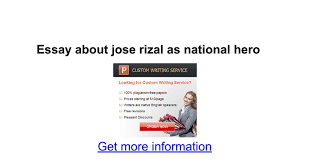 research paper about jose rizal essay about jose rizal as national hero google docs