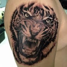 50 best roaring tiger tattoo designs u0026 ideas