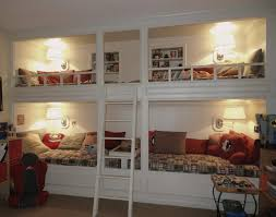 Built In Bunk Bed Chic Built In Bunk Bed Designs Pictures Interior Design Ideas