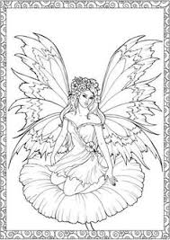 17 gothic fairy coloring pages fantasy printable coloring pages