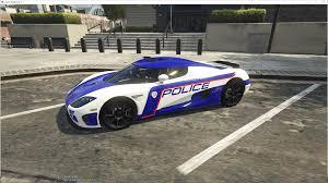 koenigsegg prototype police national koenigsegg gta5 mods com