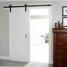 Sliding Barn Door Tracks And Rollers by Single Door 6ft 16ft Line Style Shaped Roller American Style