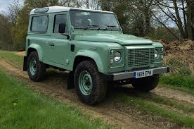 green land rover 2016 land rover defender 90 heritage review car news car