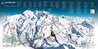 Steamboat Trail Map Zermatt Trail Map Onthesnow