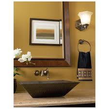 terrific decorating ideas with vessel sinks for bathrooms u2013 double