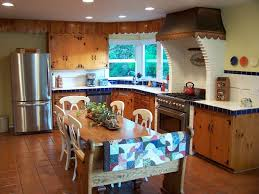Floor And Decor Ceramic Tile Country Kitchen With Breakfast Nook Drop In Sink In Corvallis