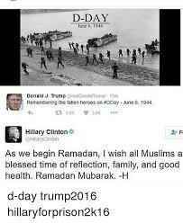 D Day Meme - d day june 6 1944 donald j trump donald trump 15m 19k 38k hillary