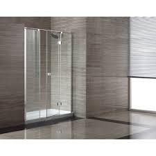 Glass Bathtub Enclosures Shower Bathtub Enclosures Wayfair Glass Pivot Door Enclosure