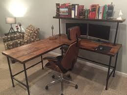 Corner Wood Desk Corner Desk Reclaim Wood Desk L Table Solid Oak W 28