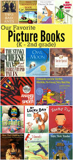 2nd grade books to read favorite picture books for k 2nd grade