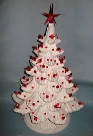 vintage christmas tree lights vintage christmas 19 white ceramic mold christmas tree light 2 pc