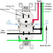 wiring diagram for household outlet wiring diagram