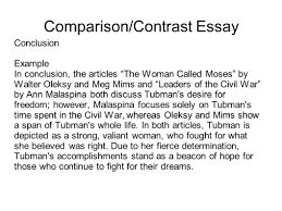 Examples Of Introductory Paragraphs For Essays Example Of A Compare And Contrast Essay Introduction Paragraph