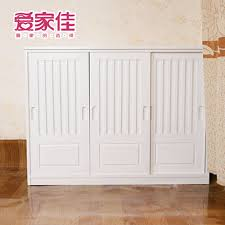 sliding door shoe cabinet shoe cabinet console cabinet storage cabinet large capacity solid