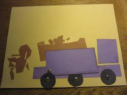 paper crafts for kids make a working dump truck arts and