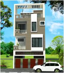 House Elevation by Ghar Planner Leading House Plan And House Design Drawings