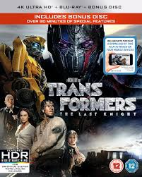 transformers the last knight 4k ultra hd digital download blu