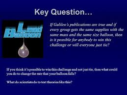 Challenge Do You Tie An Introduction To The Scientific Method The Lead Balloon