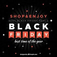 best black black friday background in flat design vector free download