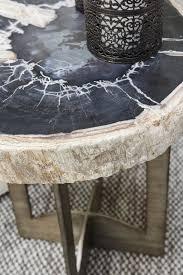 petrified wood end table amazing petrified wood end table colorado style home furnishings