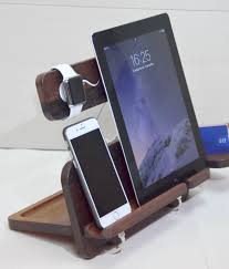 Electronic Charging Station Desk Organizer Charging Station Apple Station Iphone Stand