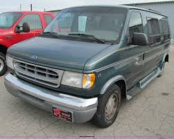 1997 ford econoline e150 van item d7126 sold wednesday
