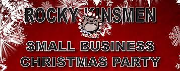 small business christmas party rocky mountain house kinsmen