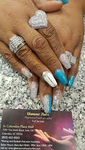 manicure and pedicure services columbia glamour nails